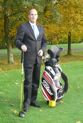 Training auf Golfplatz