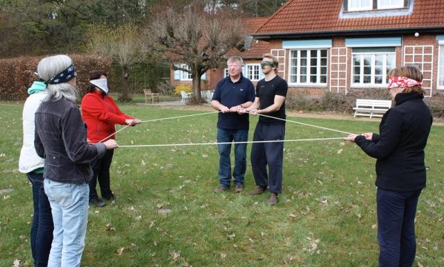 Teamentwicklung mit Outdoorelementen